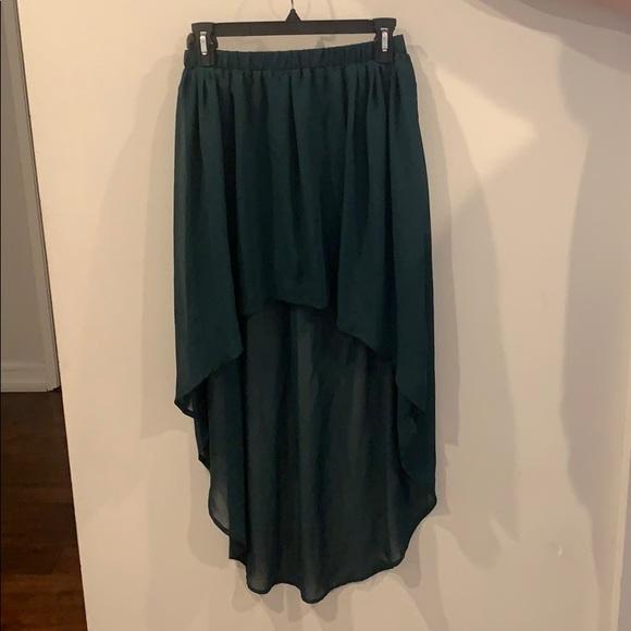 Zara Dresses & Skirts - High Low Skirt